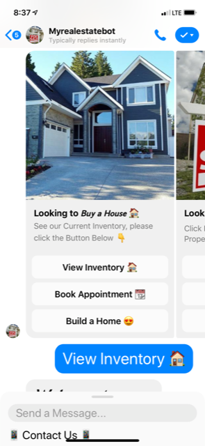 Chatbots for Real Estate Professionals