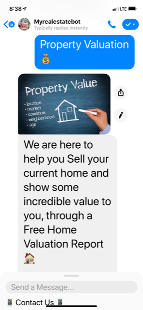 chatbots Free Home Evaluation
